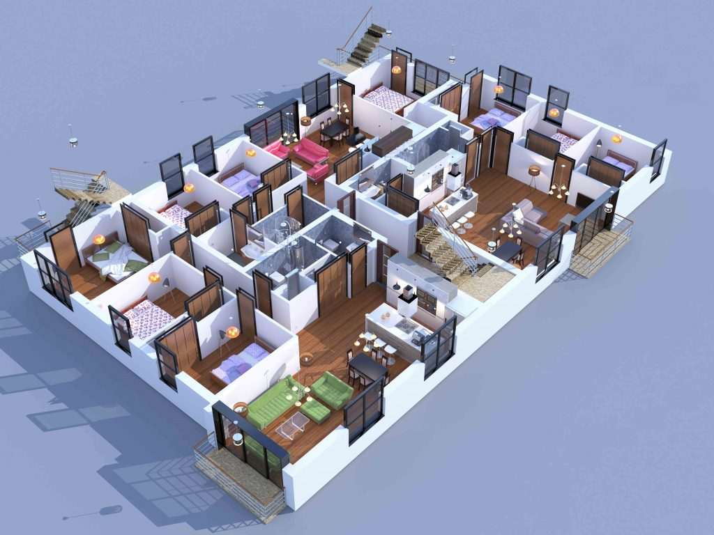 3D Plan for Danolo Company