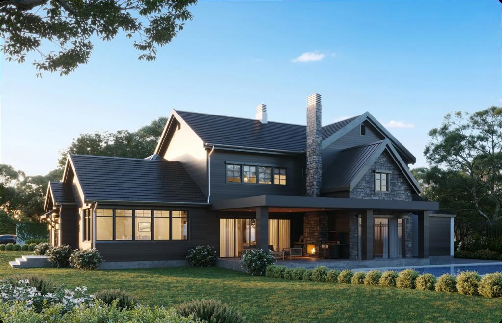 Exterior Design of a Country House 1