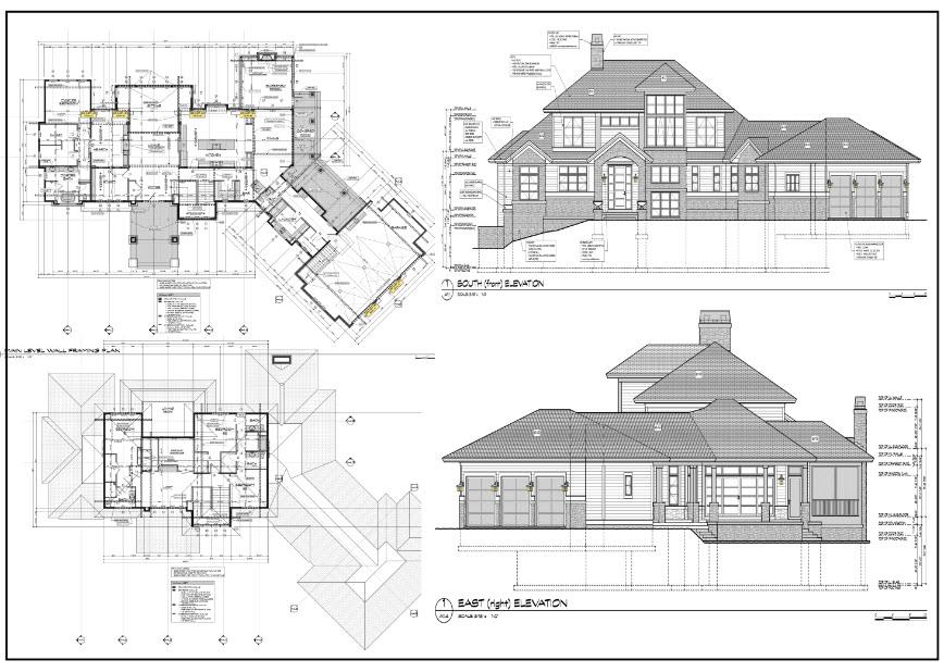 Farm House Permit Drawing Preview 1