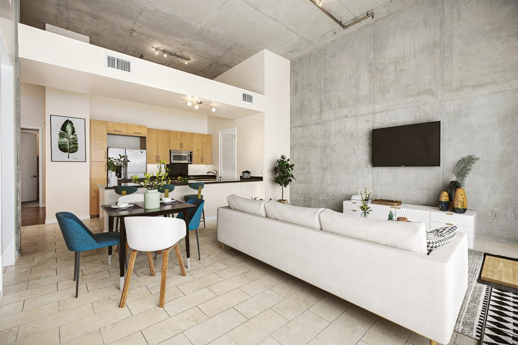 Industrial-style Apartment1