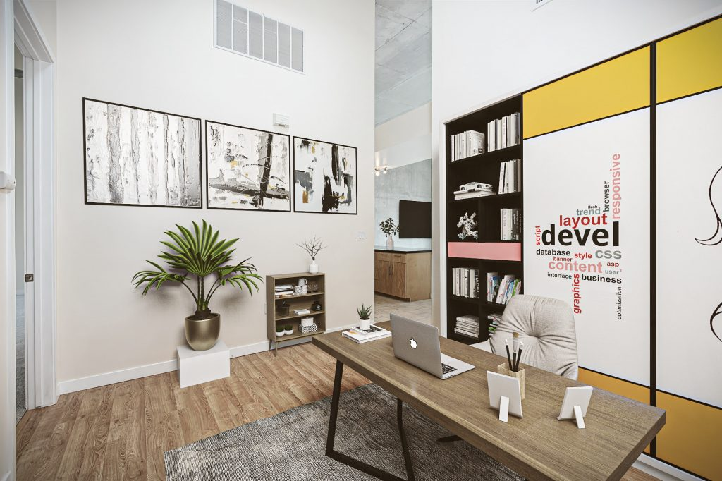 Industrial-style Apartment2