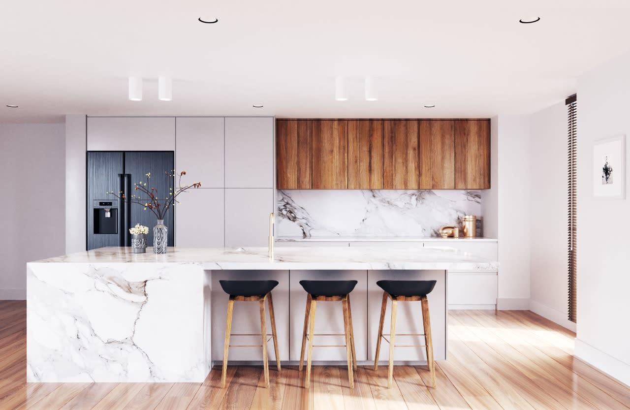 Modern Kichen Design Toronto Canada