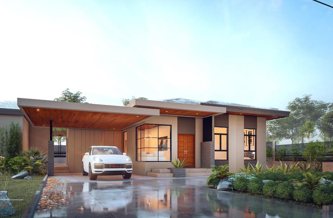 Modern Pure Villa Design