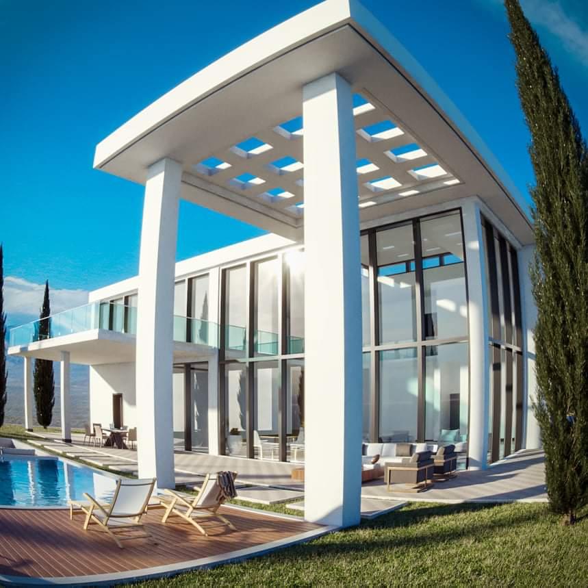 Ultra Modern exterior view