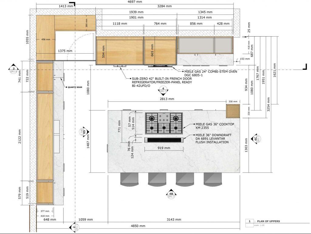 design kitchen-closet-bathroom
